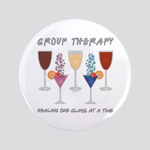 "Group Therapy 3.5"" Button"