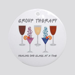 Group Therapy Ornament (Round)