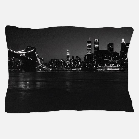 Funny World trade center Pillow Case
