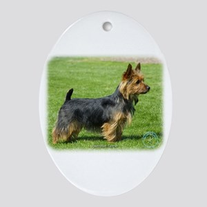 Australian Terrier 9R044D-62 Ornament (Oval)