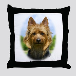 Australian Terrier 9R044D-19 Throw Pillow