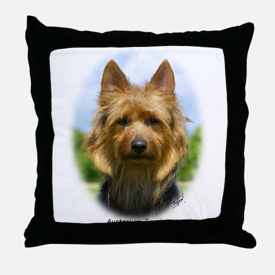 Australian Terrier 9R044D-19 Throw Pillow