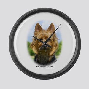 Australian Terrier 9R044D-19 Large Wall Clock