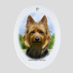 Australian Terrier 9R044D-19 Ornament (Oval)