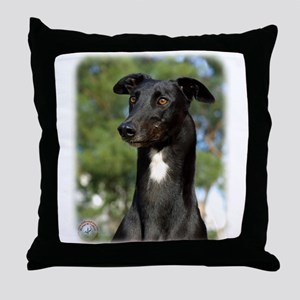 Greyhound 9R022-146 Throw Pillow