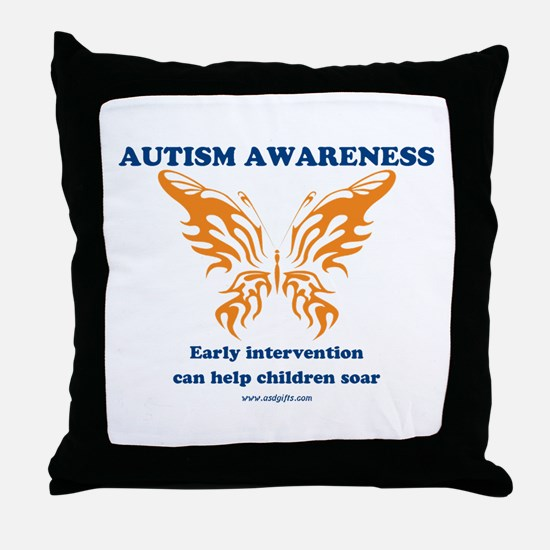 Early Intervention Throw Pillow