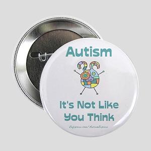 "Autism Think 2.25"" Button"