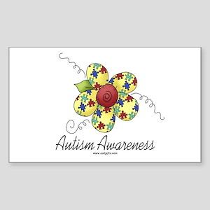 Autism Awareness Sticker (Rectangle)