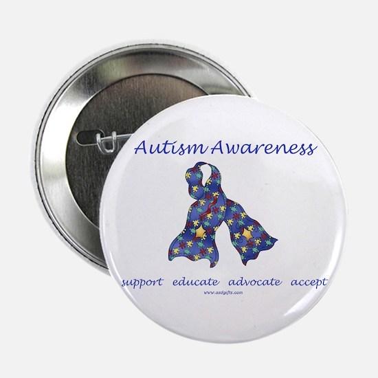 """Autism Awareness (seaa) 2.25"""" Button"""