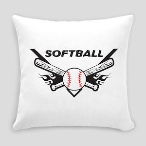 Softball Everyday Pillow