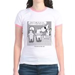 Unicorns on the Ark Jr. Ringer T-Shirt