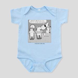 Unicorns on the Ark Infant Bodysuit