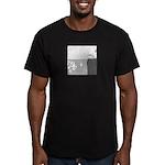 Piranha Pizza Men's Fitted T-Shirt (dark)
