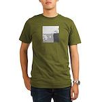Piranha Pizza Organic Men's T-Shirt (dark)