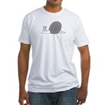 Snail Fitted T-Shirt