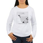 Evolution or Failed Fish Suicide Women's Long Slee