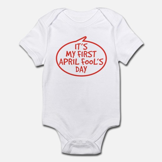 Baby's First April Fool's Day Infant Bodysuit