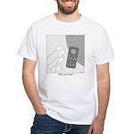 No Moleste White T-Shirt