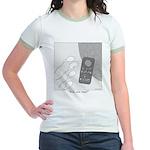 No Moleste Jr. Ringer T-Shirt