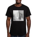 No Moleste (No Text) Men's Fitted T-Shirt (dark)
