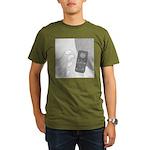 No Moleste (No Text) Organic Men's T-Shirt (dark)
