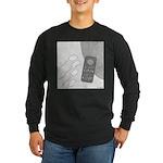 No Moleste (No Text) Long Sleeve Dark T-Shirt