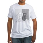 No Moleste (No Text) Fitted T-Shirt