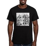 Shut Up Josh Men's Fitted T-Shirt (dark)