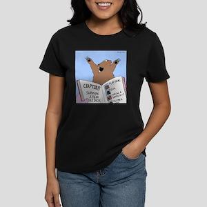 Surviving a Bear Attack Women's Dark T-Shirt