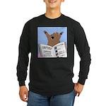 Surviving a Bear Attack Long Sleeve Dark T-Shirt