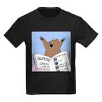Surviving a Bear Attack Kids Dark T-Shirt