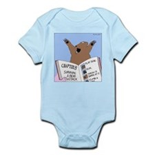 Surviving a Bear Attack Infant Bodysuit