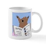 Surviving a Bear Attack Mug