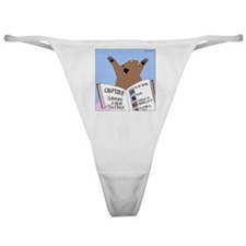 Surviving a Bear Attack Classic Thong