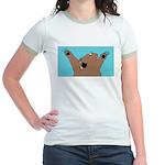 Bear Attack! Jr. Ringer T-Shirt