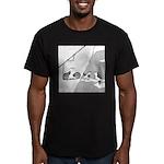 Goat Lift Men's Fitted T-Shirt (dark)