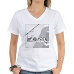 Goat Lift Women's V-Neck T-Shirt