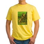 SQUIRREL! Yellow T-Shirt