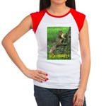 SQUIRREL! Women's Cap Sleeve T-Shirt