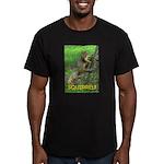 SQUIRREL! Men's Fitted T-Shirt (dark)