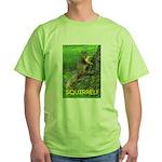 SQUIRREL! Green T-Shirt