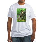 SQUIRREL! Fitted T-Shirt