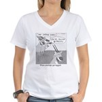 When Antelope Get Tagged Women's V-Neck T-Shirt
