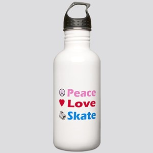 Peace Love Skate Stainless Water Bottle 1.0L