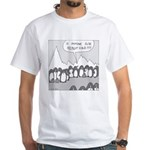 Really Cold White T-Shirt