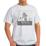 Billy the Squid (No Text) Light T-Shirt