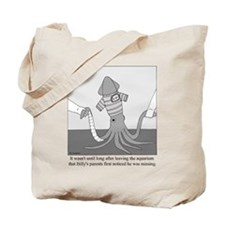 Billy the Squid Tote Bag