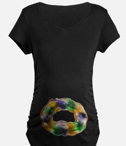 King Cake Maternity T-Shirt