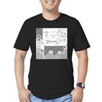 Atomic Bomb (No Text) Men's Fitted T-Shirt (dark)