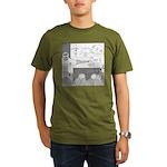 Atomic Bomb (No Text) Organic Men's T-Shirt (dark)